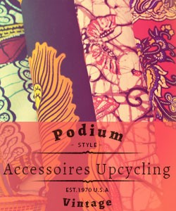 Accessoires mode upcycling